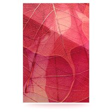 Delicate Leaves by Ingrid Beddoes Graphic Art Plaque