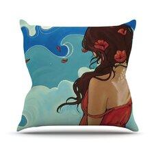 Sea Swept by Lydia Martin Throw Pillow