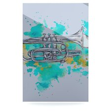 Hunting for Jazz by Kira Crees Graphic Art Plaque