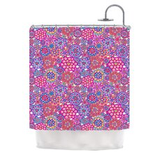 My Happy Flowers Shower Curtain
