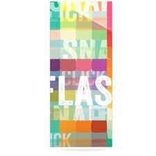 Flash by Original Graphic Art Plaque