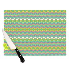 Chevron Love Cutting Board