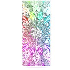 Rainbow Dots by Monika Strigel Graphic Art Plaque