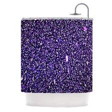 Purple Dots Shower Curtain