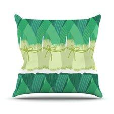 Leeks by Laura Nicholson Throw Pillow