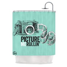 Picture Me Rollin Shower Curtain