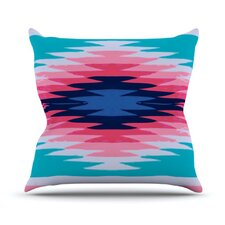 Surf Lovin II by Nika Martinez Throw Pillow