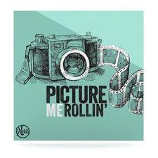 Picture Me Rollin by Original Graphic Art Plaque