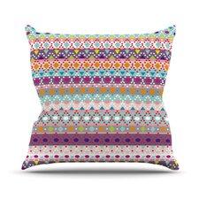 Ayasha by Nika Martinez Throw Pillow