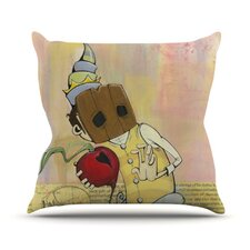 Thalamus by Matthew Reid Throw Pillow