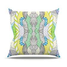 Wormland by Monika Strigel Throw Pillow