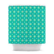 Hive Blooms Shower Curtain