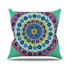 Surkhandarya by Laura Nicholson Throw Pillow
