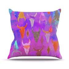 Rodeo by Nikki Strange Throw Pillow