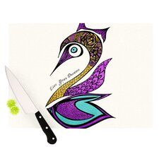 Dreams Swan Cutting Board