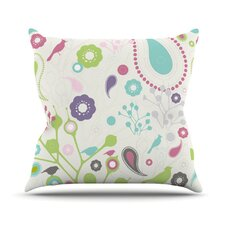 Bird Song by Nicole Ketchum Throw Pillow