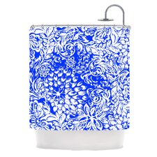 Bloom Blue for You Shower Curtain