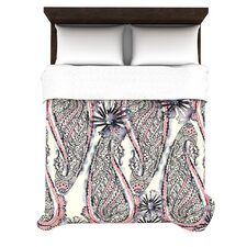 Inky Paisley Bloom Bedding Collection