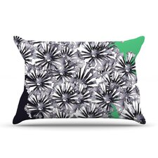 Inky Flowers Pillow Case