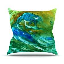 Hurricane by Rosie Brown Throw Pillow