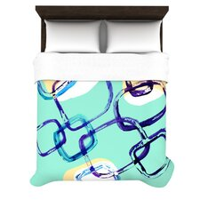 Sixties Exposure by Theresa Giolzetti Duvet Cover