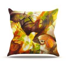 Memory by Kristin Humphrey Throw Pillow