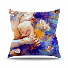 A Deeper Sleep by Kira Crees Throw Pillow