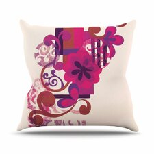 Throw Pillow Method Space Faerie : Modern Go Bold with Radiant Orchid AllModern