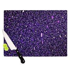 Purple Dots Cutting Board