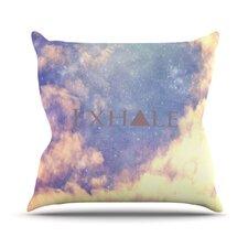Exhale by Rachel Burbee Throw Pillow