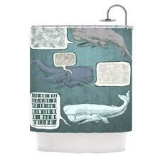 Whale Talk Shower Curtain