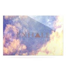 Exhale by Rachel Burbee Graphic Art Plaque