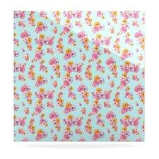 Paper Flower by Laura Escalante Graphic Art Plaque