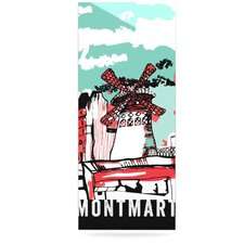 Montmartre by Theresa Giolzetti Graphic Art Plaque