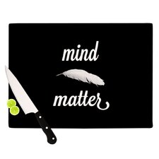 Mind Over Matter Cutting Board