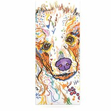 Lily by Rebecca Fischer Graphic Art Plaque