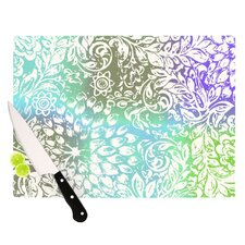 Blue Bloom Softly for You Cutting Board