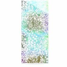 Blue Bloom Softly for You by Vikki Salmela Graphic Art Plaque