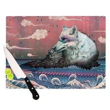 Lone Wolf Cutting Board