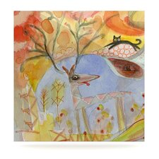 Promise of Magic by Marianna Tankelevich Painting Print Plaque