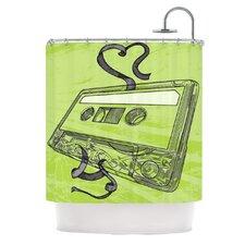 Mixtape Shower Curtain