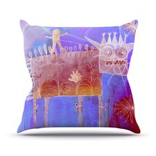 Scary Song about Love Throw Pillow