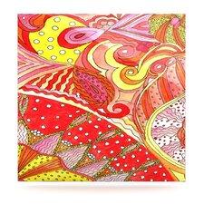 Swirls by Rosie Brown Painting Print Plaque
