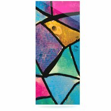 Stain Glass 2 by Theresa Giolzetti Graphic Art Plaque
