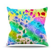 Jungle Talk by Vikki Salmela Throw Pillow
