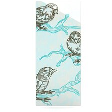 Birds in Trees by Sam Posnick Graphic Art Plaque