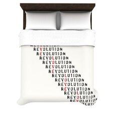"""""""Revolution"""" Woven Comforter Duvet Cover"""