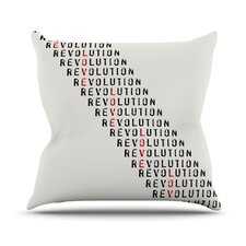 Revolution by Skye Zambrana Throw Pillow