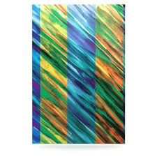 Set Stripes II by Theresa Giolzetti Graphic Art Plaque