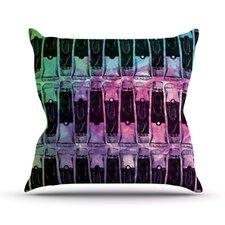 Paint Tubes II Throw Pillow